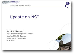 Contrast Agents: Update on NSF